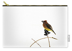 Waxwing Wonders Carry-all Pouch