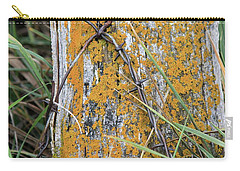 Weathered Fence Carry-all Pouch