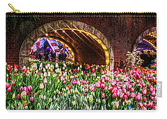 Welcoming Tulips Carry-all Pouch by Sandy Moulder