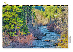 West Fork Rapids Carry-all Pouch by Nancy Marie Ricketts