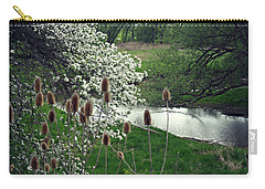 Carry-all Pouch featuring the photograph Whimsical Way  by Cyryn Fyrcyd