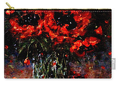 Whispers Of Love  Carry-all Pouch by Cristina Mihailescu