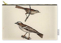 White-browed Sparrow-weaver And Grass Or Bush Warbler Carry-all Pouch