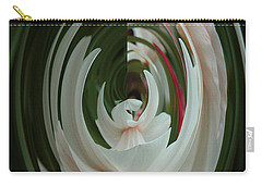Carry-all Pouch featuring the photograph White Form by Nareeta Martin