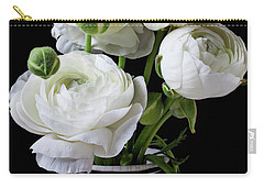 White Beauty Photographs Carry-All Pouches