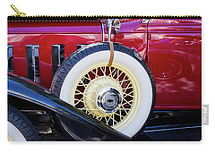 Wide Whitewall Spare Tire Carry-all Pouch