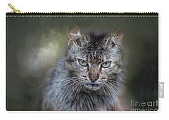 Wild Cat Portrait Carry-all Pouch