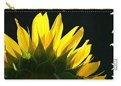 Wild Sunflower Carry-all Pouch by Shari Jardina
