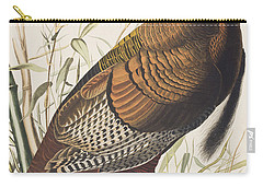 Wild Turkey Carry-all Pouch by John James Audubon
