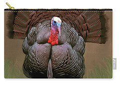 Wild Turkey Carry-all Pouch by Walter Colvin