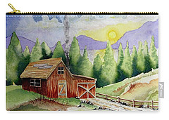 Wilderness Cabin Carry-all Pouch
