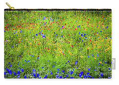 Wildflowers In Bloom Carry-all Pouch