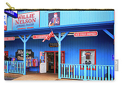 Willie Nelson And Friends Museum And Souvenir Store In Nashville, Tn, Usa Carry-all Pouch