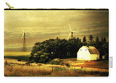 Wind Turbines Carry-all Pouch by Julie Hamilton