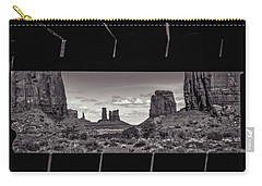 Window Into Monument Valley Carry-all Pouch