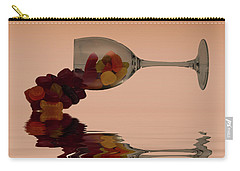 Carry-all Pouch featuring the photograph Wine Gums Sweets by David French
