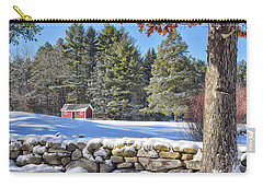 Winter Scene Carry-all Pouch
