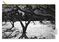 Carry-all Pouch featuring the photograph Winter Shadows by Yulia Kazansky