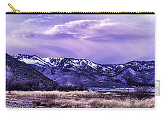 Winter Sunrise Carry-all Pouch by Nancy Marie Ricketts