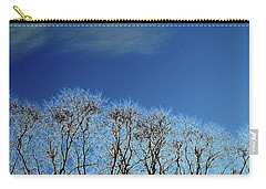 Winter Trees And Sky 3  Carry-all Pouch
