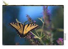 Carry-all Pouch featuring the photograph Summer Flight by Geri Glavis