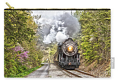 Wmsr Steam Engine 734  Carry-all Pouch by Jeannette Hunt