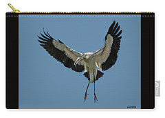 Wood Stork Carry-all Pouch