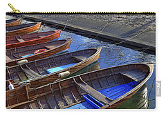Wooden Boats Carry-all Pouch