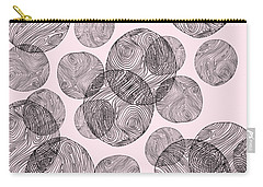 Woodprint Pattern Carry-all Pouch