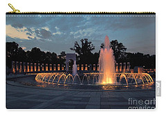 World War II Memorial Fountain Carry-all Pouch