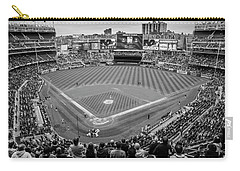 Yankee Stadium Black And White  Carry-all Pouch