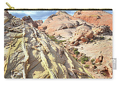 Yellow Brick Road In Valley Of Fire Carry-all Pouch