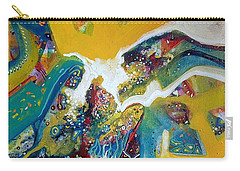 Yellow Harmony Carry-all Pouch