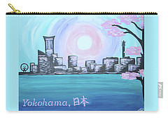 Yokohama Skyline Carry-all Pouch