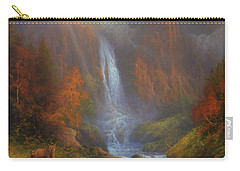 Yosemite Bridal Veil Falls Carry-all Pouch by Joe Gilronan