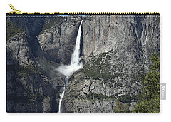 Yosemite Falls From The Four Mile Trail Carry-all Pouch