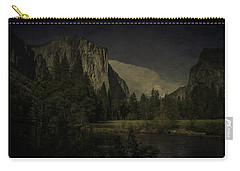 Carry-all Pouch featuring the photograph Yosemite National Park by Ryan Photography