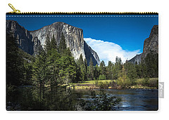 Carry-all Pouch featuring the photograph Yosemite by Ryan Photography