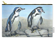 Carry-all Pouch featuring the painting You First by Oz Freedgood