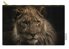 Young Lion Carry-all Pouch