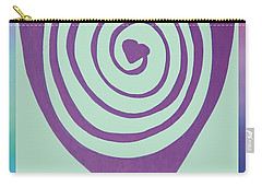 Zen Heart Labyrinth Path Carry-all Pouch