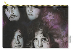 Led Zeppelin - ' Zeppelin ' Carry-all Pouch by Christian Chapman Art