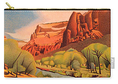 Zion Canyon Carry-all Pouch by Dan Miller