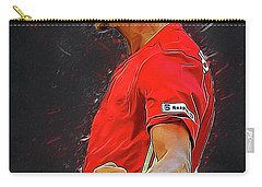 Zlatan Ibrahimovic Carry-all Pouch by Semih Yurdabak