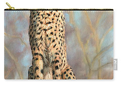 Cheetah Carry-all Pouch by David Stribbling