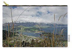 Queenstown New Zealand. Remarkable Ranges And Lake Wakatipu. Carry-all Pouch