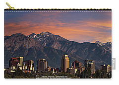 Salt Lake City Skyline Carry-all Pouch