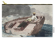 The Gulf Stream Carry-all Pouch by Winslow Homer