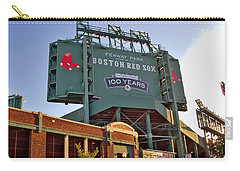 100 Years At Fenway Carry-all Pouch by Joann Vitali
