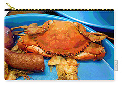 101516 Crab Boil Carry-all Pouch by Garland Oldham